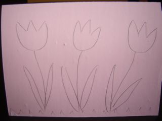 nacrtano cveće