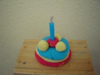 kolač sa svećicom