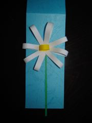 Lepljenje središta cveta - slika