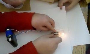 postavljanje baterije